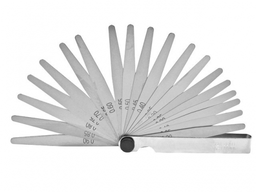 Набор щупов №1 0,02-0,10мм 9-пластин 70мм