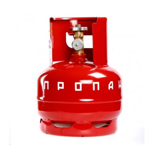 Баллон пропановый 5л с вентилем пустой 1,6МПа 222х295мм 4кг НЗГА Новогрудок