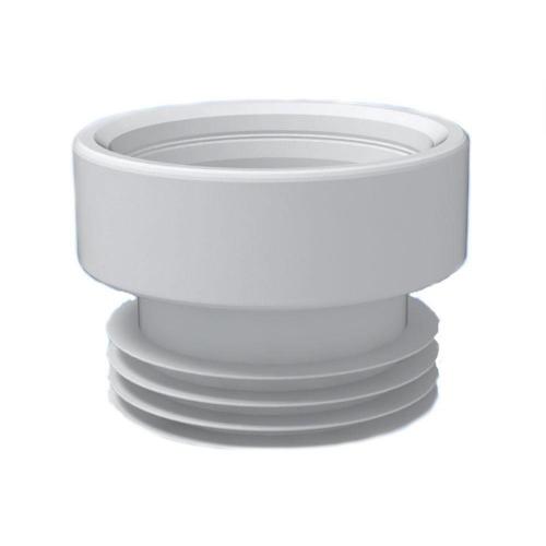 Манжета для унитаза прямая ф110 95мм полимер