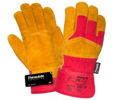 Перчатки комбинированные утепленные (иск.мех)