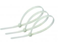 Хомут кабельный 3,6х300мм белый 100шт нейлон
