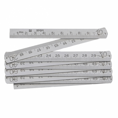 Метр складной алюминиевый 0-1000мм 5х200мм 1кл. b10мм