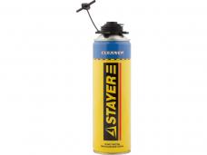 Очиститель монтажной пены Stayer Cleaner Профи 500мл (41139)