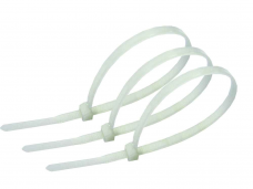Хомут кабельный 3,6х250мм белый 100шт нейлон Navigator NCT-036-250-100/WH 71043