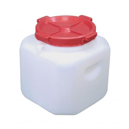 Канистра-бочка пластиковая 20л с горлом ф215мм /М459/
