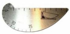 Шаблон сварщика Красовского УШК (измер/контр. сварн.соедин.,нахлест,стык,зазор)