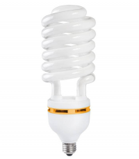 Лампа люминесцентная КЛЛ 20Вт Е27 220В спираль 48х89/120мм бел.