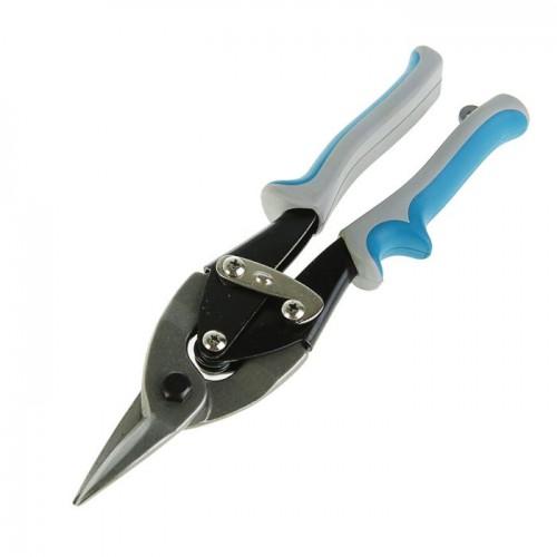 Ножницы по металлу 250мм Hardax 19-6-401 прямореж. для тонк. мет. обрезин. ручки