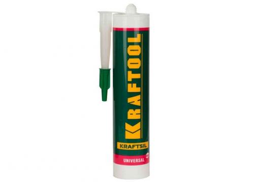 Герметик термостойкий силиконовый Kraftool TX315 300мл красный -62+250°С 41259