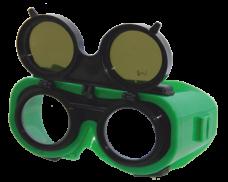 Очки защ. слес. закр. ЗНД2 Admiral 5-2,5 В1 двойн. непрям. серый