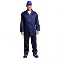 Костюм с кислотозащитной пропиткой тк.(п/эф. С-154-ЮГ) к+б. т-синий