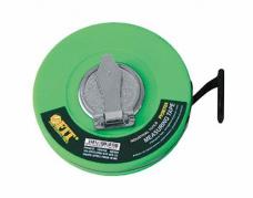 Рулетка землемерная 20м FIT 17570 фибергласс. лента 12мм закр.пласт. ручная кольцо