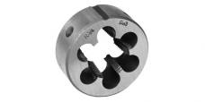 Плашка круглая для трубной конической резьбы,сталь 9ХС,ГОСТ 6228-80