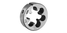 Плашка круглая для трубной цилиндрической резьбы,сталь 9ХС ,ГОСТ 9740-71