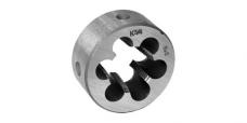 Плашка круглая для конической дюймовой резьбы,сталь 9ХС , ГОСТ 6228-80