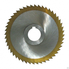 Фреза дисковая отрезная, тип 1,2,сталь Р6М5, ГОСТ 2679-93