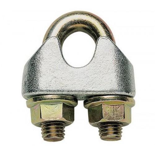 Зажим канатный винтовой грузовой пресс-шайба оцинк.желтый DIN 1142