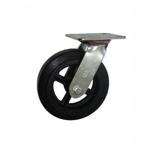 Колесо тележки опора поворотное литое SCd (ролик)