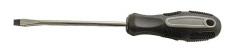 Отвертка БМ шлицевая магнит Cr-Vd обрезиненная ручка