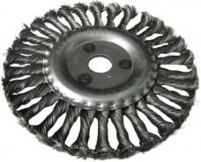 Щетка дисковая металлическая витая для УШМ