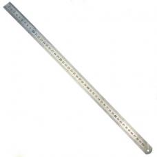 Линейка металлическая 1000мм 2-хсторонняя шкала широкая b-40мм повер. (СТИЗ)