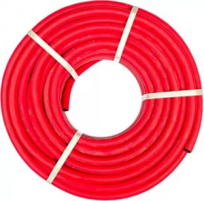 Рукав ацетилен/пропан резиновый ф6,3х13мм (l) красный (бухта 50м)