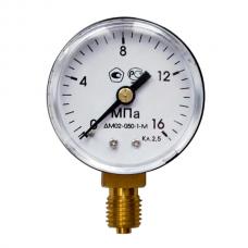 Манометр МП-50 (0...16) 1,6МПа М12х1,5/14мм кл.т.2,5 0,2кг (БМ02/ТМ2) /углекислот./