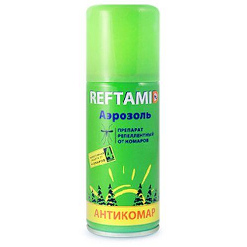 Аэрозоль от комаров репеллент Рефтамид Антикомар 100мл