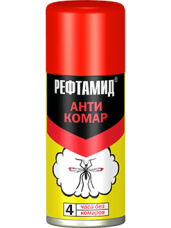 Аэрозоль от комаров репеллент