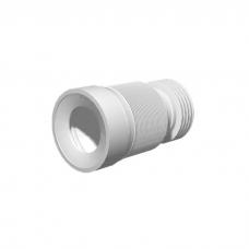 Слив для унитаза гибкий гофра мягкий выпуск ф110 231-550мм