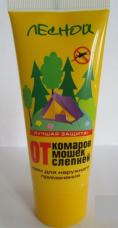 Крем от комаров Лесной 100мл пласт. туба