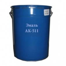 Эмаль АК-511 белая (барабан 25кг) Москвичка