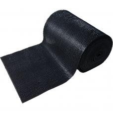 Коврик дорожка Травка на противоскользящей основе 0,9х15м черный Vortex 24004