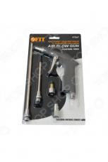 Пистолет пневматический д/продувки FIT 81067 насадки 215,100мм адаптор 3/4