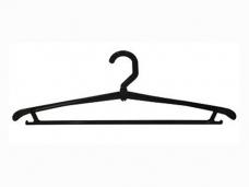 Вешалка плечики пластиковая вращающаяся р.48 40см с крючками 00-00004283