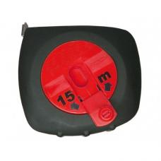 Рулетка 15м USP 17695 ст.лента-25мм закр.прорезин. возврат-ручной магнитный крючок