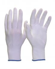 Перчатки нейлоновые НейпБ без покрытия вязаные 13кл. белый Safeprotect