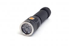 Фонарь аккумуляторный LED Gryphon G18 YLP Яркий Луч 3хLED 4-реж. 1200лм 2600мАч USB