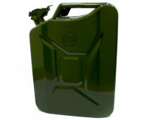 Канистра для ГСМ 10л стальная 290х140х390мм прокладка защелка КС-10 (00-00127888)