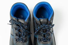 Ботинки 1202 кожаные литьевые ПУ/ПУ