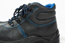Ботинки 1202 МП кожаные литьевые ПУ/ПУ мет.подносок