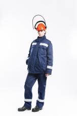 Куртка накидка СПн04-ЛII тк.Worker 9кал/см2