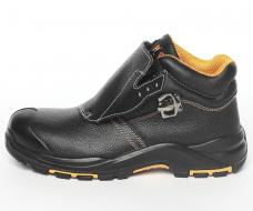Ботинки сварщика Perfect Protection ПКП+АС кожаные литьевые ПУ/Нитрил с ПП и АС