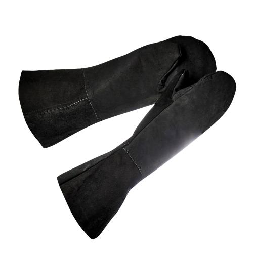 Краги кожаные сварщика двухпалые (Россия)
