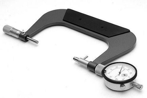 Микрометр рычажный МРИ-150-0,002 125-150мм цена деления 0,01мм диапазон+/-0,1мм (наружн.размер)